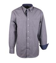 Casual Overhemd Grijs Dessin
