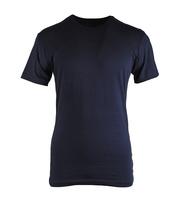 Claesens T-shirt Rund Hals Dunkelblau