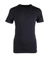 Claesens T-shirt Ronde Hals Zwart