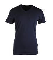 Claesens T-shirt V-hals Donkerblauw