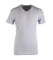 Claesens T-shirt V-hals Grijs