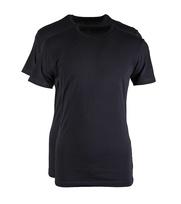 Claesens T-shirt Zwart 2-Pack