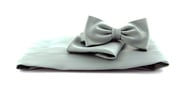Cumberband + Bow Tie Grey