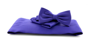 Cumberband + Bow Tie Purple