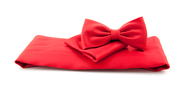 Cumberband + Bow Tie Red