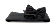 Cumberband + Bow Tie Black
