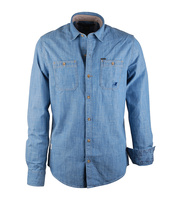 Denimoverhemd Lichtblauw Vanguard