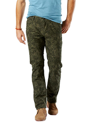 Dockers Alpha Stretch Khaki Print