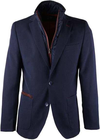 Donkerblauw Blazer Jacket