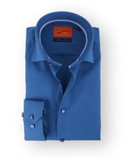 Donkerblauw Overhemd 51-12