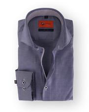 Donkerblauw Overhemd Slim Fit 112-01
