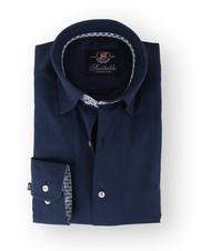 Donkerblauw Overhemd Twill 108-3