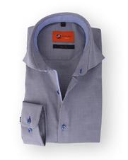 Donkerblauw Sleeve 7 Overhemd 110-3