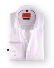 Dress Slim Fit White Twill