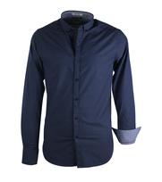 Dstrezzed Overhemd Dessin Donkerblauw