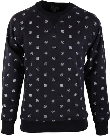 Dstrezzed Sweater Donkerblauw Print