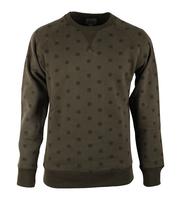 Dstrezzed Sweater Groen Print