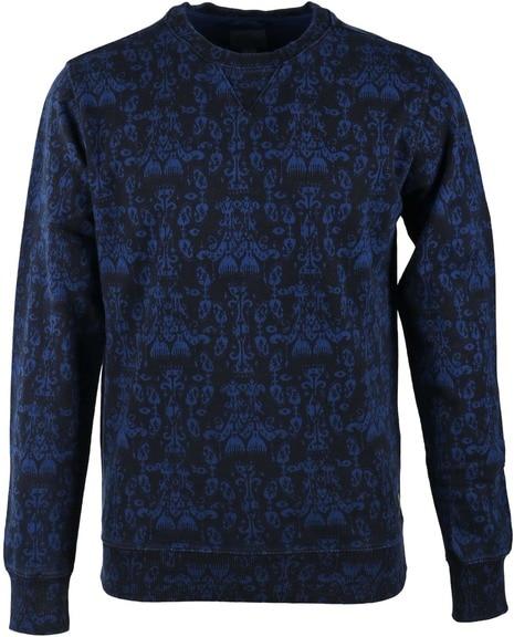Dstrezzed Sweater Indigo Print