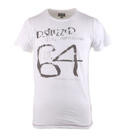 Dstrezzed T-shirt White Print