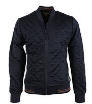 Dstrezzed Vest Donkerblauw Quilt