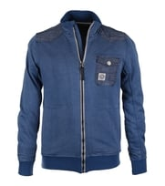 Duck And Cover Cardigan Maester Blue