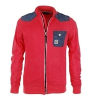 Duck And Cover Cardigan Maester Coral Red