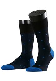 Falke Sok Dot Blauw 3010