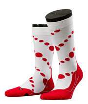 Falke Sok RU Dotty Red/White