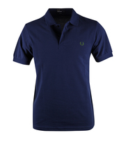 Fred Perry Basic Polo Donkerblauw Slim Fit 215