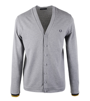 Fred Perry Cardigan Steel Marl