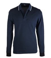 Fred Perry Longsleeve Polo Service Blue D45
