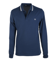 Fred Perry Longsleeve Polo Service Blue