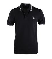 Fred Perry Polo Black Slim Fit 524