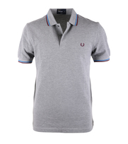 Fred Perry Polo Steel Marl Slim Fit C90