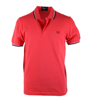 Fred Perry Polo Tropical Red Slim Fit A57
