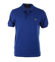 Fred Perry Poloshirt Basic Medieval Blue