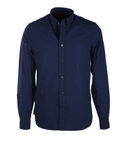 Fred Perry Shirt Medieval Blue 126