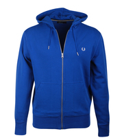 Fred Perry Vest Royal Blauw