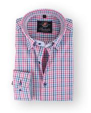 Fuchsia Overhemd Ruit 108-8