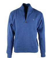 Gant Half Zip Pullover Blauw