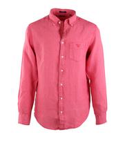Gant Linnen Overhemd Bright Coral