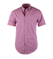 Gant Overhemd Bright Coral Check