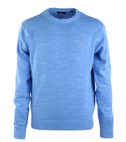 Detail Gant Pullover Crew Pacific Blue