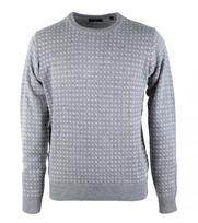Gant Pullover Jacquard Grey