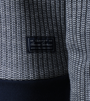 Detail Gant Pullover Structure Rib