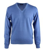 Gant Pullover V-neck Blauw