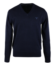 Detail Gant Pullover V-neck Navy