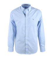 Gant Shirt Gingham Blauw