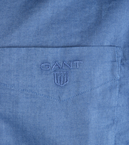 Detail Gant Shirt Nightfall Blue
