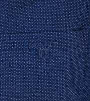 Detail Gant Shirt Pinpoint Navy